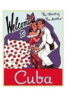 Welcome to Cuba Fine Art Print