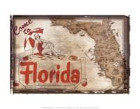 "Come to Florida - 14"" x 11"""