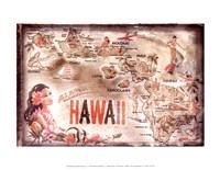 """Aloha Hawaii - 14"""" x 11"""""""