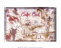 "Cape Cod Holiday - 14"" x 11"" - $10.99"