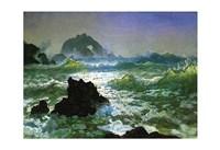 """Seal Rock by Albert Bierstadt - 19"""" x 13"""" - $12.99"""