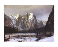Cathedral Rock Yosemite Fine Art Print