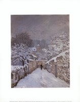Snow at Louveciennes, France, 1878 Fine Art Print