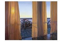 Evening Interplay, 2000 Framed Print