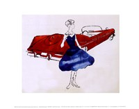 Female Fashion Figure, c. 1959 Fine Art Print