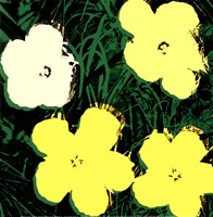Flowers, 1970 (4 yellow) Fine Art Print