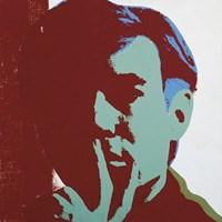 "Self-portrait, 1967 by Andy Warhol, 1967 - 12"" x 12"""