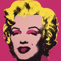 Marilyn Monroe (Marilyn), 1967 (hot pink) Fine Art Print