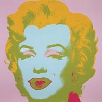 "Marilyn Monroe (Marilyn) (pale pink), 1967 by Andy Warhol, 1967 - 12"" x 12"""