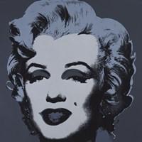 Marilyn Monroe (Marilyn), 1967 (black) Fine Art Print