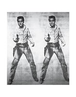 Elvis 2 Times, 1963 Fine Art Print