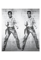 """Elvis 2 Times, 1963 by Andy Warhol, 1963 - 13"""" x 19"""""""