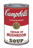 Campbell's Soup I: Cream of Mushroom, 1968 Framed Print