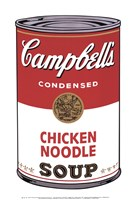 Campbell's Soup I:  Chicken Noodle, 1968 Framed Print