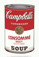 Campbell's Soup I:  Consomme, 1968 Fine Art Print