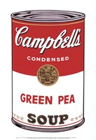 """Campbell's Soup I:  Green Pea, 1968 by Andy Warhol, 1968 - 13"""" x 19"""""""