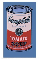 Campbell's Soup Can, 1965 (pink & red) Fine Art Print