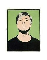 Self-Portrait, 1964 (on green) Fine Art Print