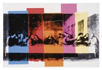 """Detail of The Last Supper, 1986 by Andy Warhol, 1986 - 19"""" x 13"""", FulcrumGallery.com brand"""