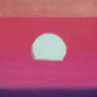 Sunset, 1972 40/40  (fuchsia) Fine Art Print