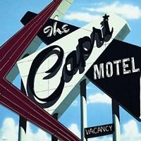 Capri Motel Fine Art Print