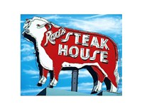 Rod's Steakhouse Fine Art Print