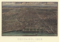 Chicago 1916 Fine Art Print