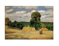 The Harvest, 1876 Fine Art Print