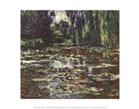 The Bridge Over the Water Lily Pond, 1905 Fine Art Print