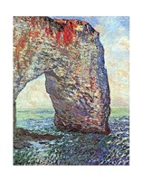 The Manneporte near Etretat, 1886 Fine Art Print
