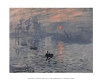 "Impression, Sunrise by Claude Monet - 14"" x 11"""