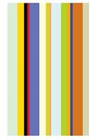 Paprika Stripe Fine Art Print