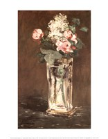 """Flowers in a Vase, Ca. 1882 by Edouard Manet, 1882 - 11"""" x 14"""""""