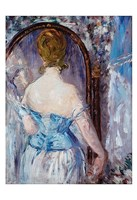 """Before the Mirror by Edouard Manet - 13"""" x 19"""""""