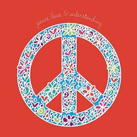 Peace, Love, and Understanding Fine Art Print