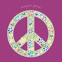 Imagine Peace Fine Art Print