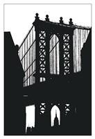 "DUMBO Silhouette by Erin Clark - 13"" x 19"""