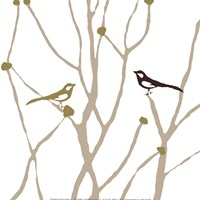 "Little Bird by Erin Clark - 12"" x 12"", FulcrumGallery.com brand"