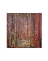 """Tannenwald I by Gustav Klimt - 11"""" x 14"""""""