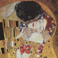 The Kiss (detail) Fine Art Print