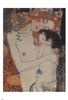 The Three Ages of Woman (detail) by Gustav Klimt - various sizes, FulcrumGallery.com brand