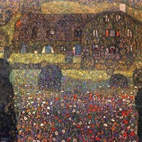 House in Attersee by Gustav Klimt - various sizes