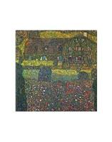 "House in Attersee by Gustav Klimt - 11"" x 14"""