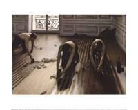 The Floor Scrapers [Raboteurs de parquet], 1875 Fine Art Print