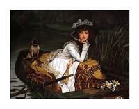 Lady in a Boat Fine Art Print