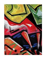 Colorful Graffiti (detail Fine Art Print