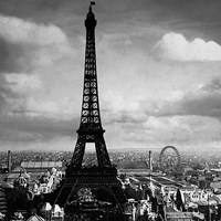 The Eiffel Tower, Paris France, 1897 Fine Art Print