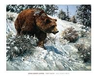 First Snow Fine Art Print