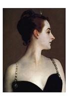 Madame X (detail) Fine Art Print
