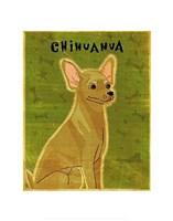 "Chihuahua (tan) by John W. Golden - 11"" x 14"", FulcrumGallery.com brand"